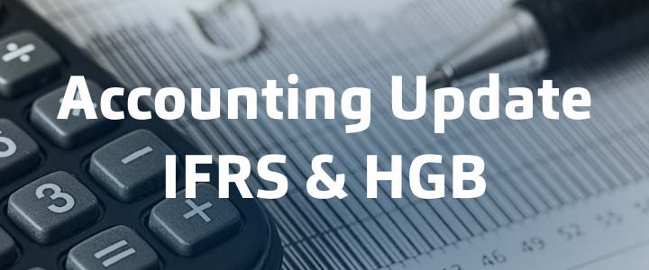 Corona: Accounting Update HGB & IFRS